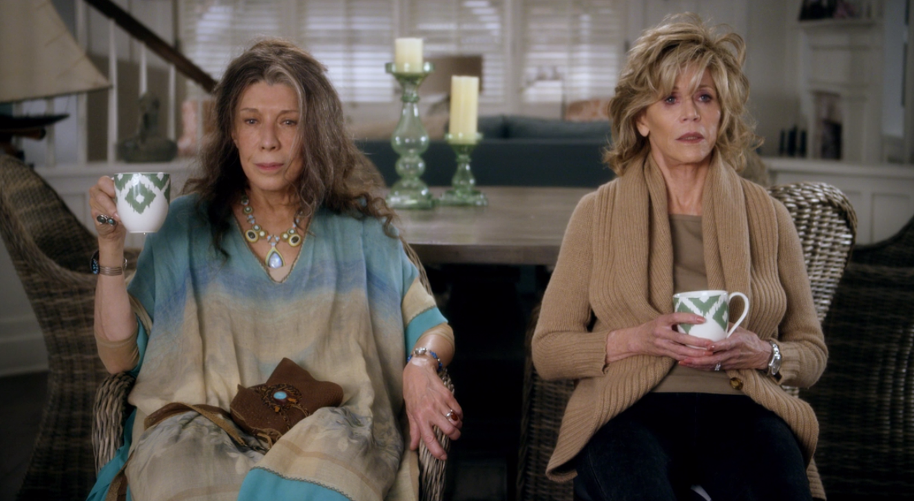 Fotograma de la serie 'Grace and Frankie'.