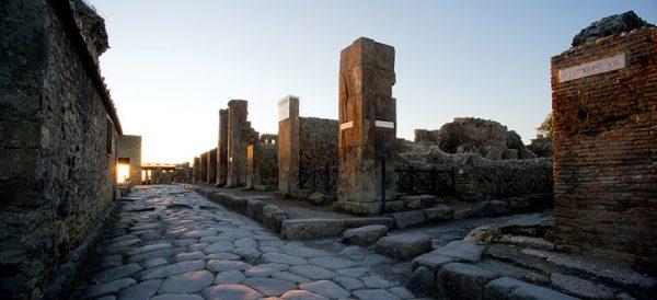 Vía de las Termas, Pompeya. Foto de Pepo seguro (cc).