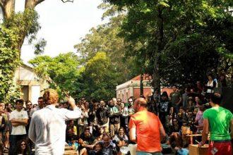 El Festival Sinsal se celebra en la Isla de San Simón (Vigo).