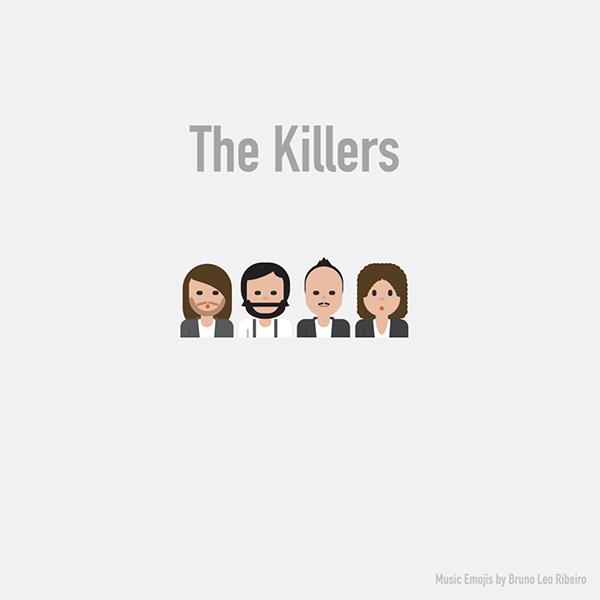 Emoji de The Killers.