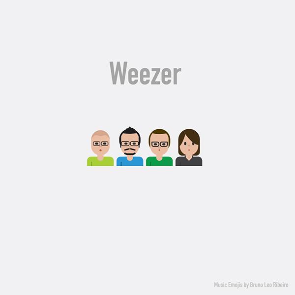 Emoji de Weezer.