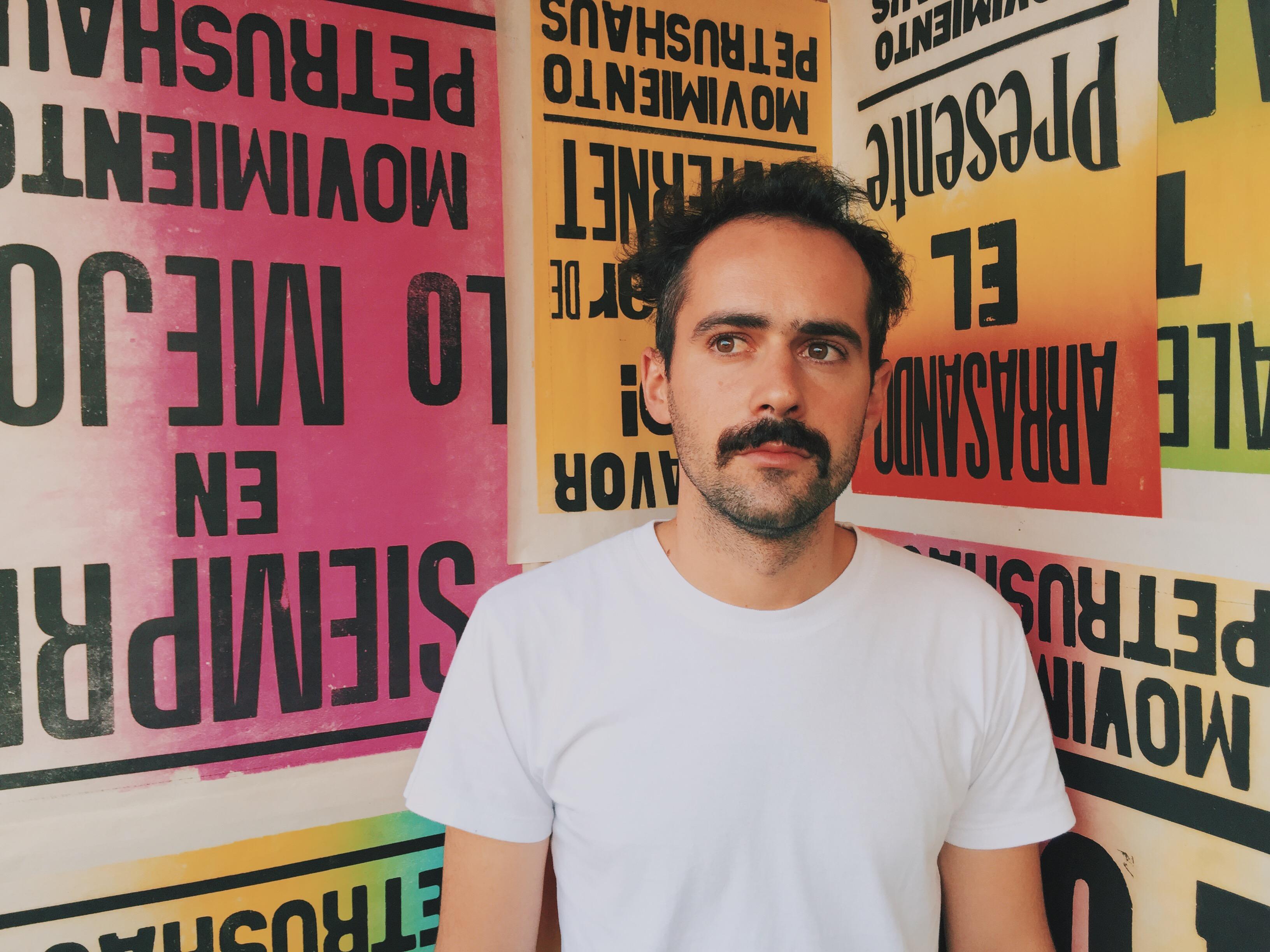 El artista argentino Ale Giorgga.