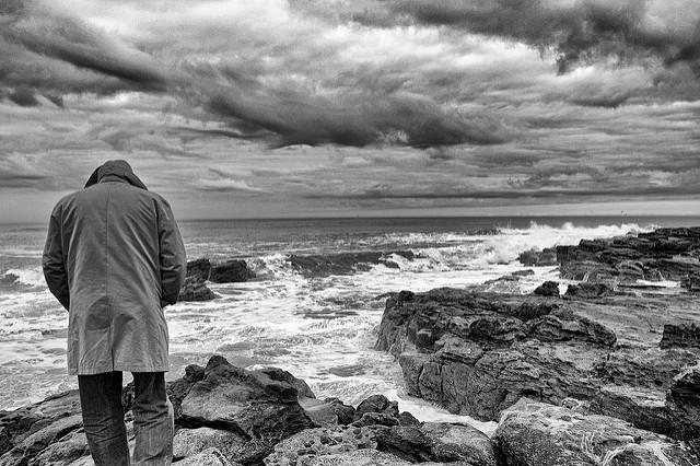 El viejo y el mar. Foto de john mchugh (cc).