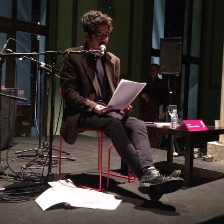Lectura de Jesús Carmona-Robles en el Festival Eñe