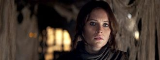 Felicity Jones en un fotograma de 'Rogue One'.
