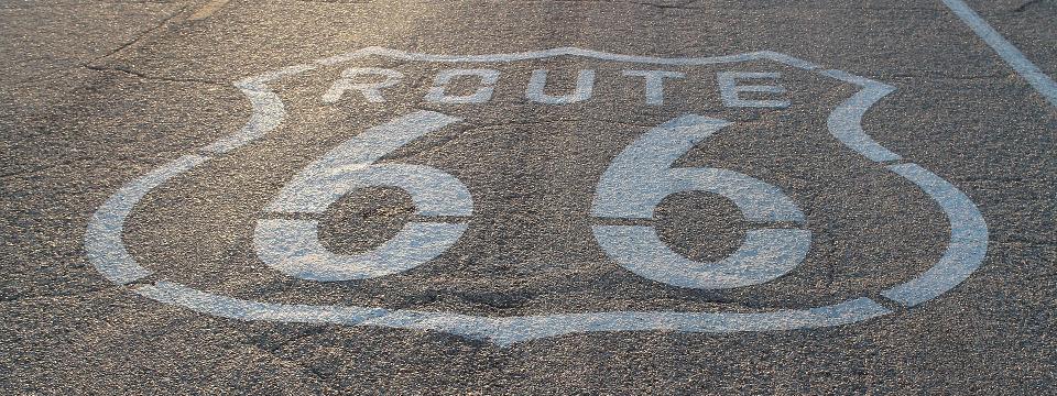 Carretera de la Ruta 66.