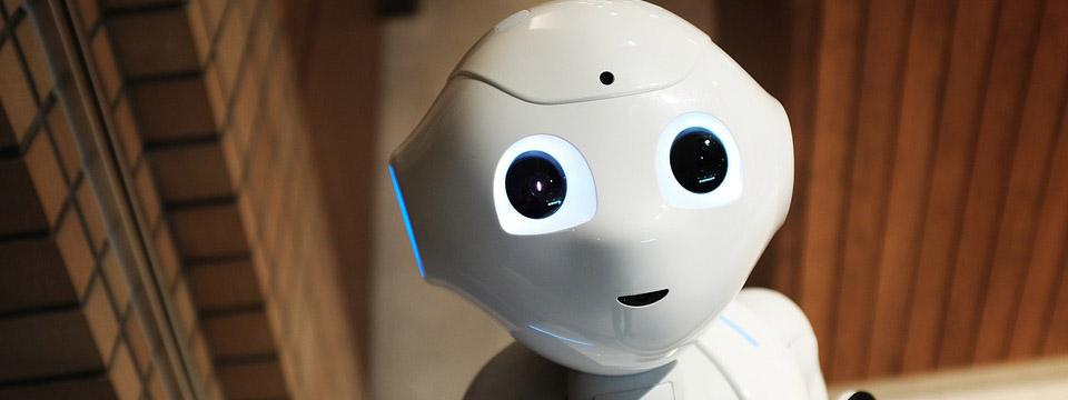 El robot Pepper.