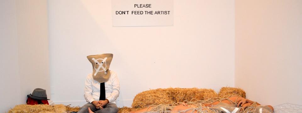 Please, don't feed the artist, Museo de Jaén, 2016.