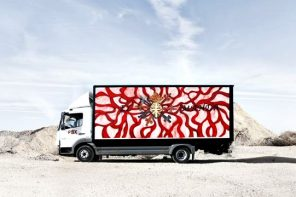 Truck Art Project: camiones para transportar arte a simple vista