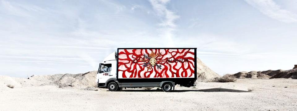 Truck Art Project: el arte llega a los camiones. Por Marina Vargas.