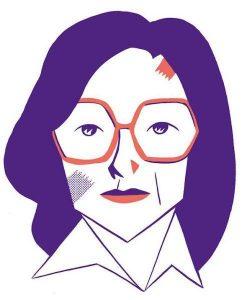 Ilustración de Carla Berrocal para la exposición 'PRESENTES. Autoras de cómic de ayer y hoy'.