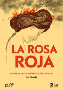 Portada del cómic sobre la vida de Rosa Luxemburg