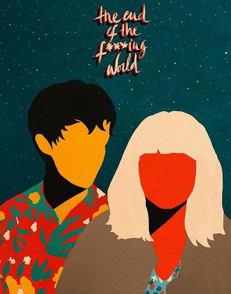 Ilustración de la artista Coco Dávez para la serie de Netflix.