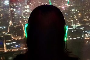 Mi canal, mi ritmo, mi flow: visita al The Shard Silent Disco