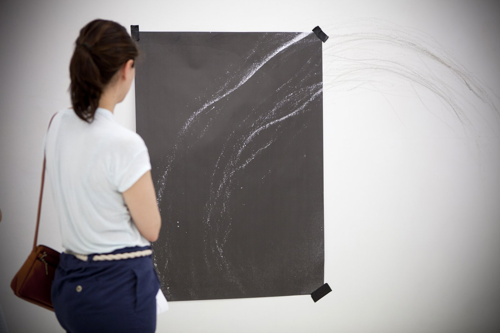 Galería Louis21. 'Sobre El Muro'. Obra De Ian Waelder