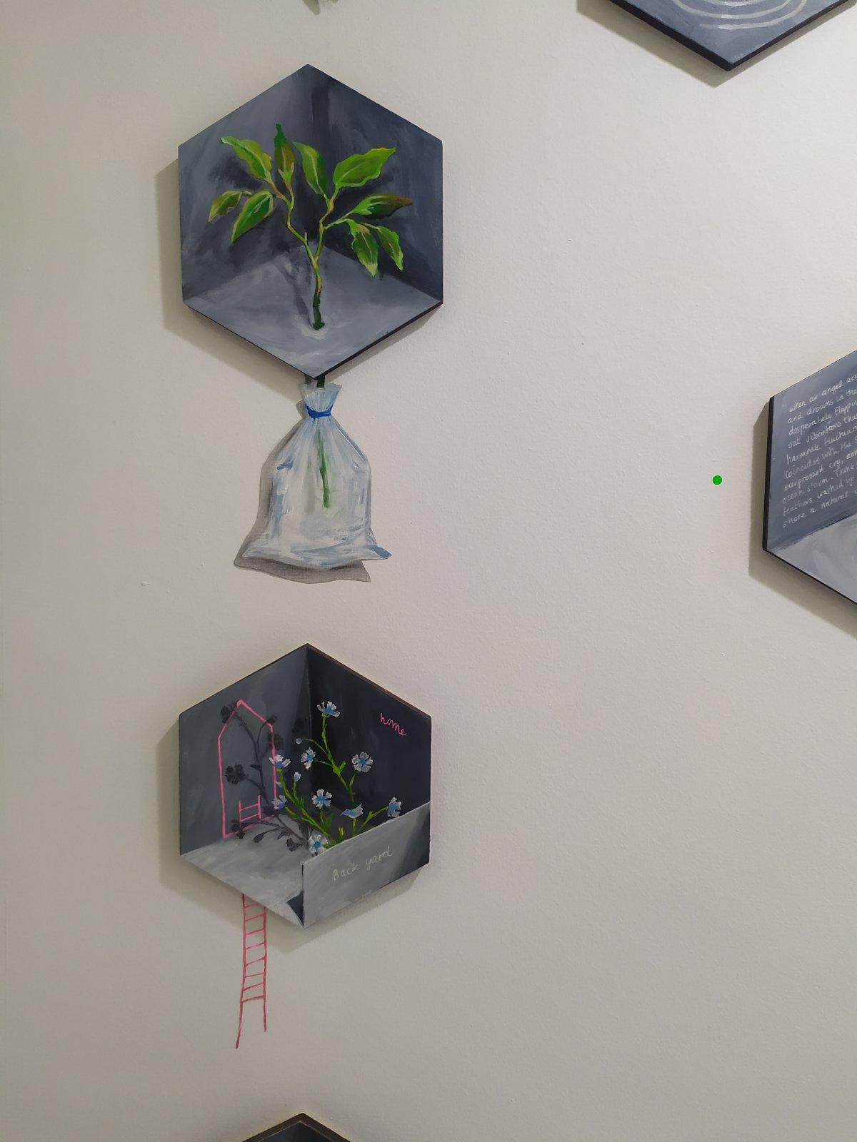Obra de Inez Wijnhorst, All Arts Gallery en Hybrid.