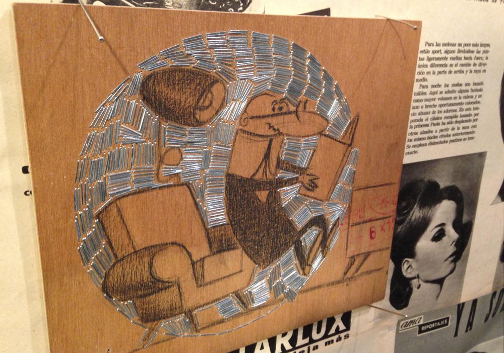 Obra del extremeño Florentino Díaz en Drawing Room