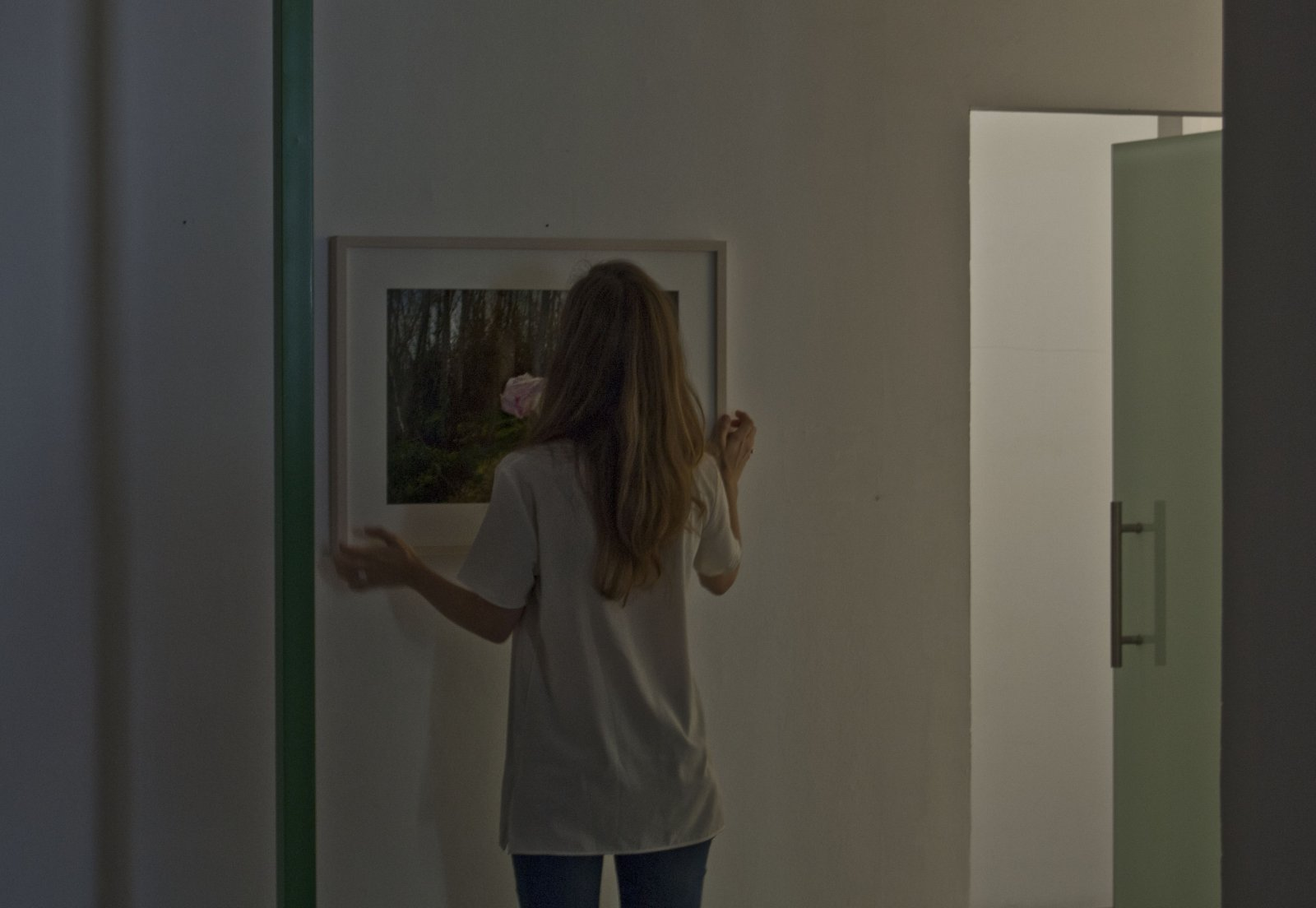 Julia Llerena En El Montaje De \'Espacio Gélido\'. En Espacio Mínimo