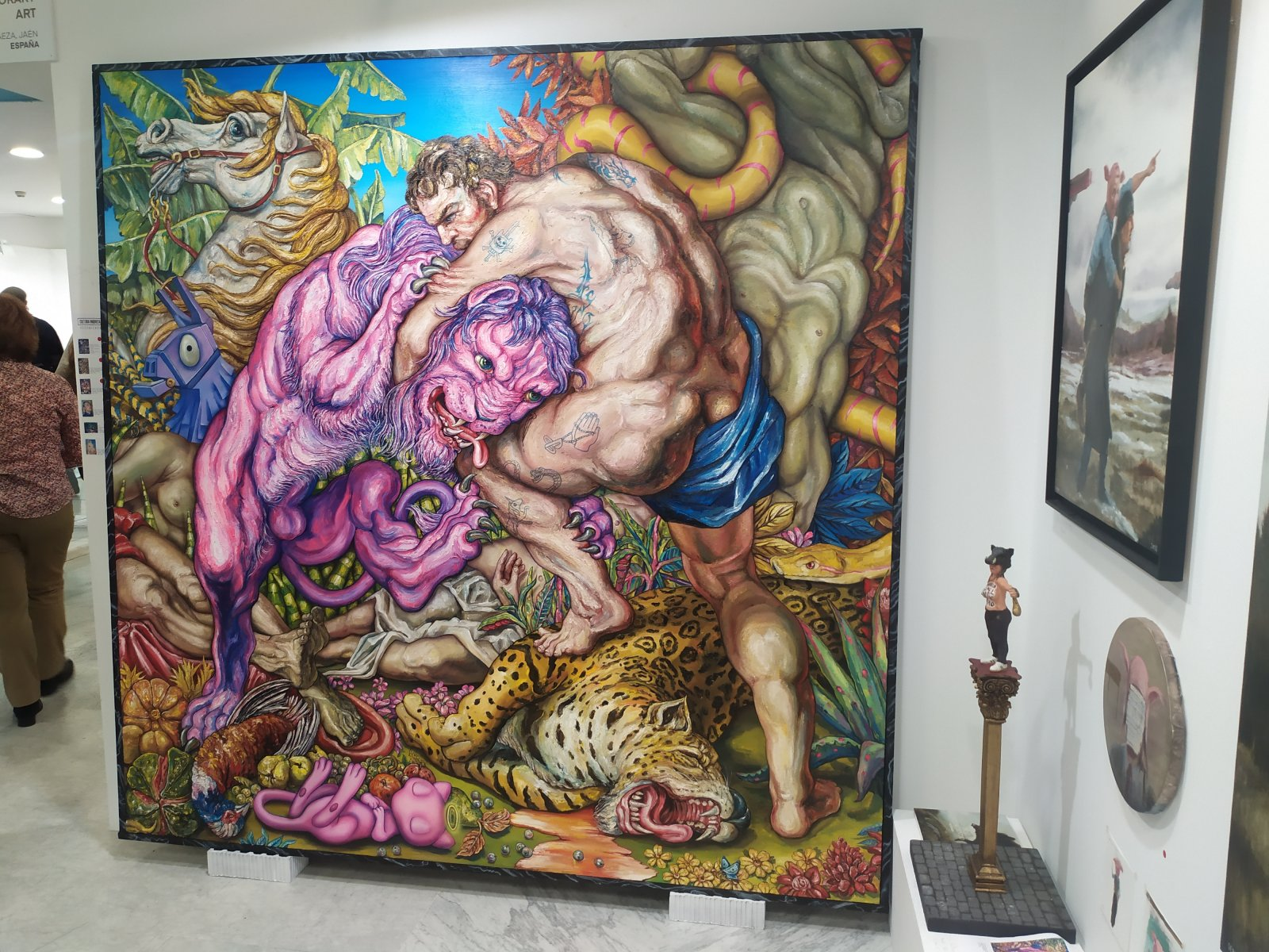Galería Renace Contemporary Art en Justmad.