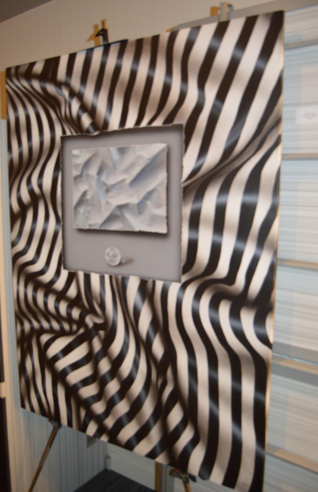 Obra de Vicente Heca en la habitación de Eka Moor