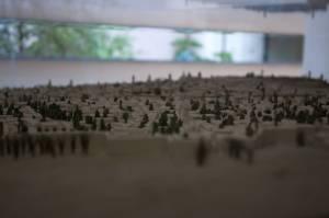 3. Maqueta en el Museo de los Orígenes que permite apreciar cómo fue creciendo Madrid desde la fortaleza y ciudadela originarias.