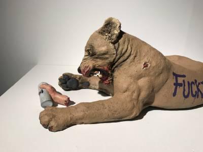 'Fake Banksy', Javier Aguilera (2017)
