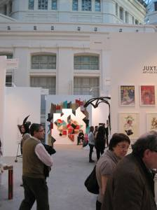 Visitantes de Art Madrid 2014