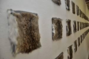 2. Detalle de obra en la Exposición Extendido 2013.