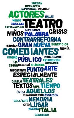 Las palabras más usadas por Dario Fo en su manifiesto para el Día Mundial del Teatro