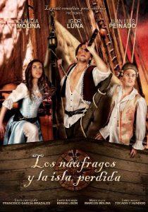 Cartel promocional de Los naufragos y la isla perdida