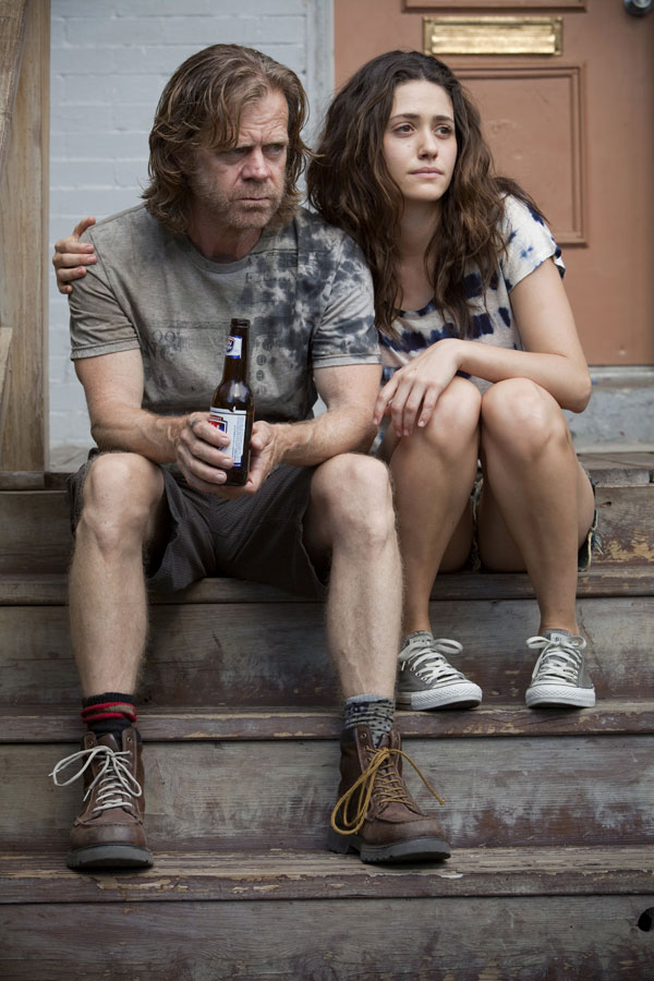 Frank y Fiona: William H. Macy y Emmy Rossum. Shameless USA