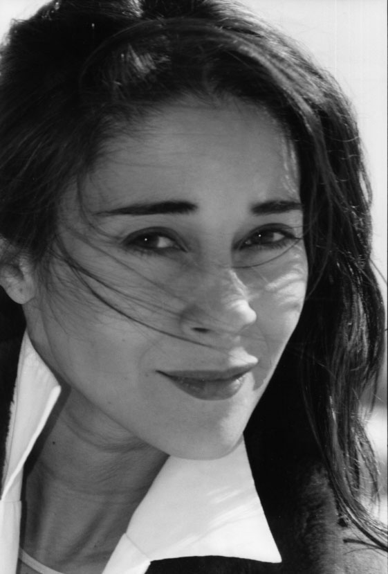 Nieves Mateo, periodista y actriz.