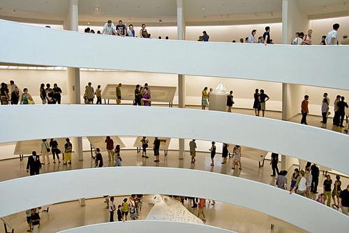 Guggenheim Bilbao por dentro