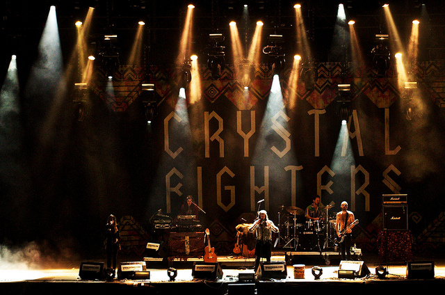 crystal Fighters en SOS 4.8 2013