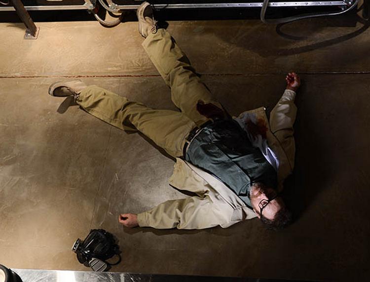 Walt muriendo