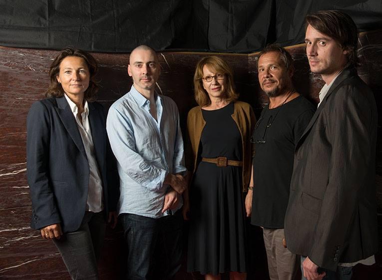 Jurado de Cinespaña: Elisabeth Tanner,Romain Delange, Nathalie Baye, Alain Bainée, Jérôme Bonnell