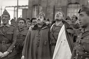 El general Franco y Millán Astray