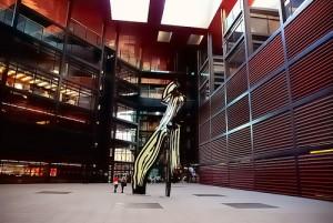 Entrada al Museo Reina Sofía, donde se celebró la gala de los Premios RAC.