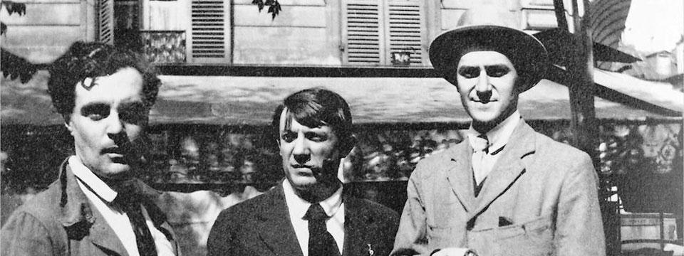 Modigliani_Picasso_and_Andre_Salmon_portada