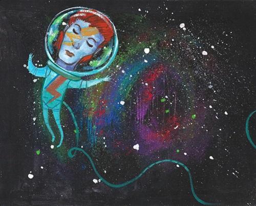 Space Oddity por Ashlyn Anstee.