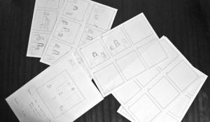 Storyboard en proceso
