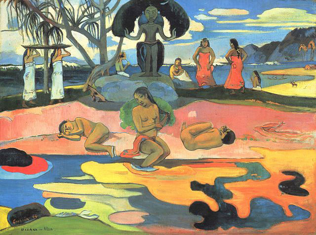 Paul_Gauguin_Day_of_the_gods_1894