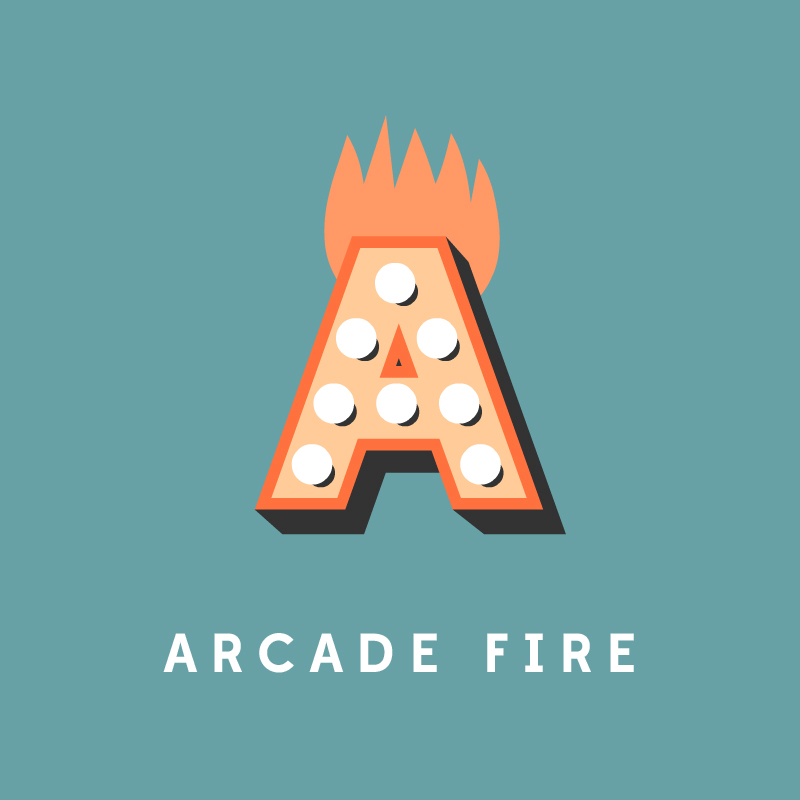 A, de Arcade Fire.