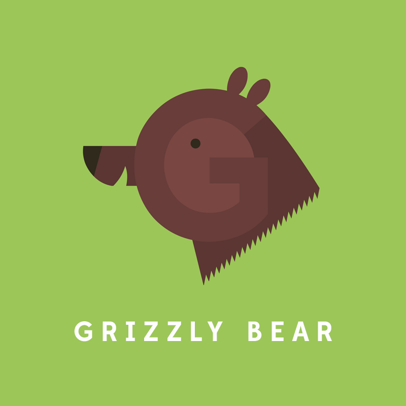 G, de Grizzly Bear.