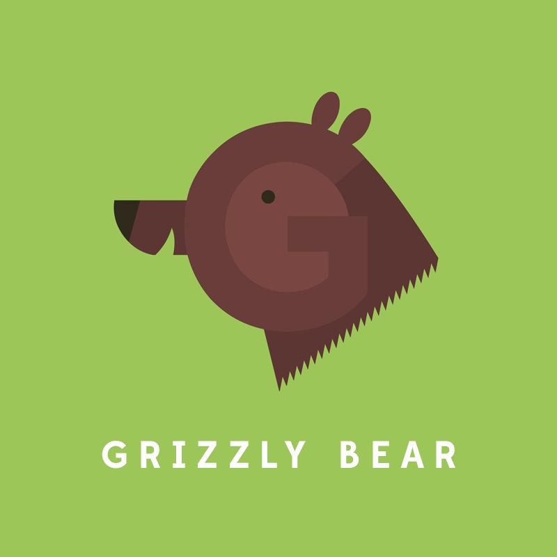 G, de Grizzly Bear.