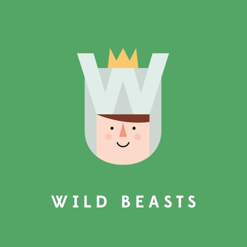 W, de Wild Beasts.