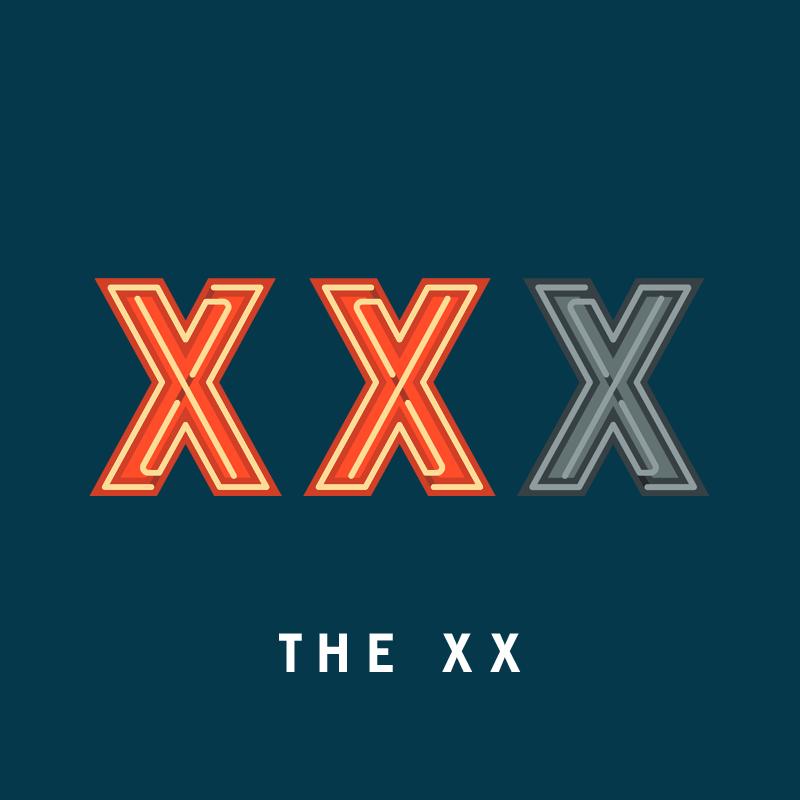 X, de The XX.