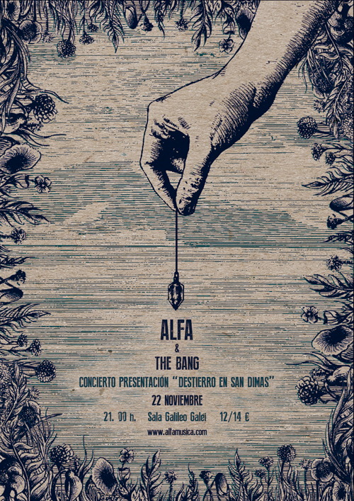 Cartel-Alfa-&-the-bang-textura