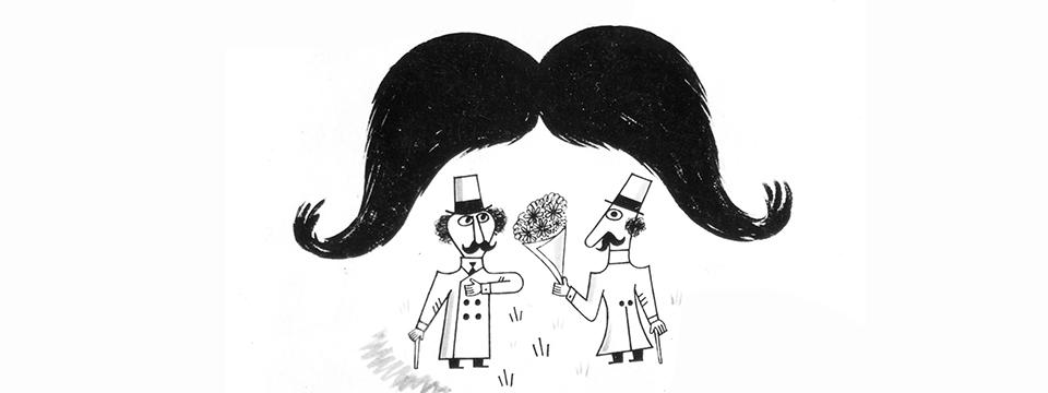 'Un bigote para dos': un doblaje chanante mucho antes de la tele