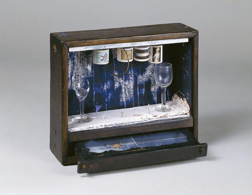 Burbuja de jabón azul, Joseph Cornell, 1949-50